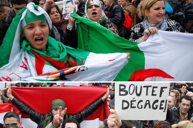 Boutef dégage Algérie contestation