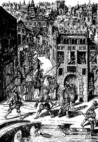Le massacre des protestants de france lors de la saint for Robes blanches simples pour le mariage de palais de justice