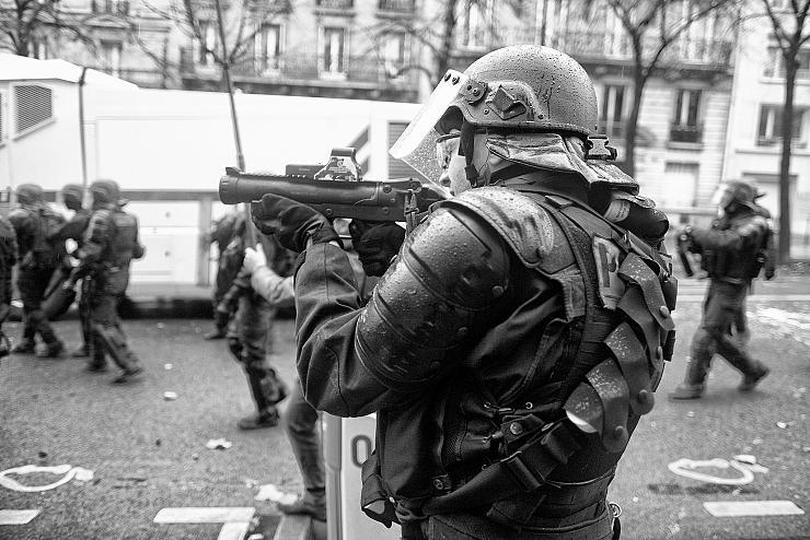 foto de La violence de la répression des gilets jaunes est impressionnante Matière et Révolution
