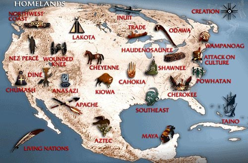 Chronology  Struggle of American Indians  Matire et Rvolution